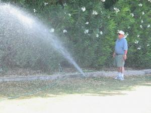 Our Sprinkler Installation techs in Santa Cruz check every sprinkler head